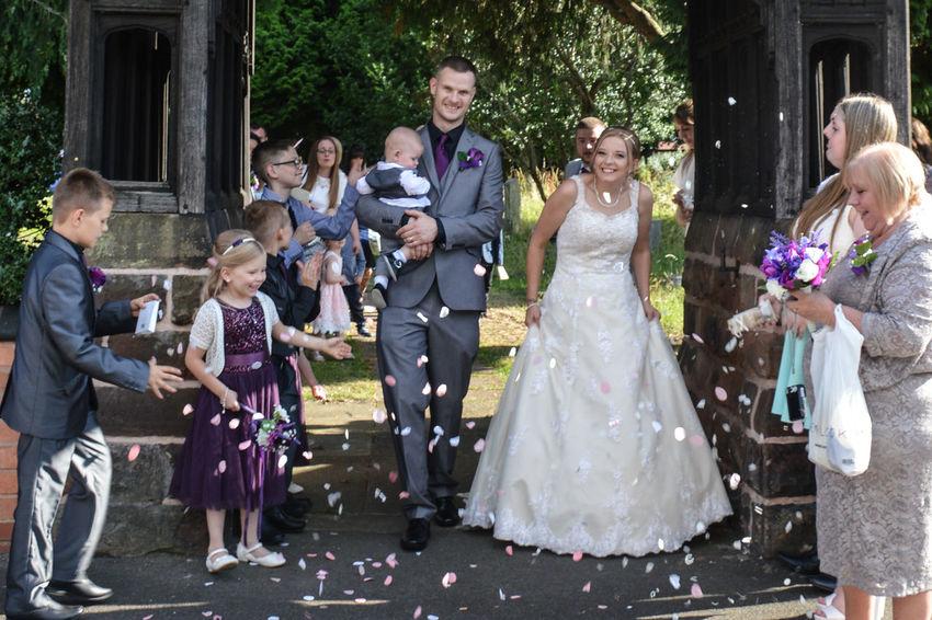 Wedding Wedding Photography Confetti