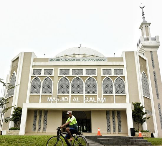 Bicycle Architecture Mosque
