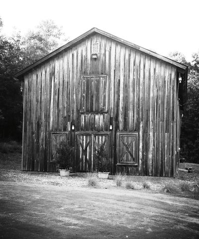 Outdoors Black And White Barn Manmade Structure Peace And Quiet Rustic Barn Country Life