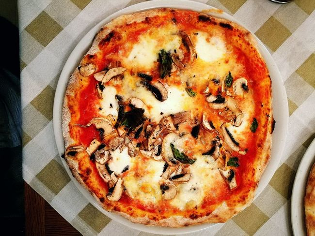 The best food in the world :-)Vegetarianfood Follow4follow Cibosano  Cheese! Healthy Food Foodporn Healthy Lifestyle Pizza Italy Italian Food Italia Funghi🍄 Foodphotography Foodgasm