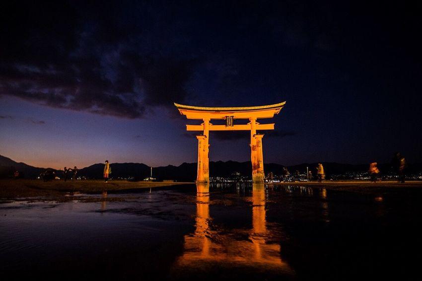 今年も大変お世話になりました😄 December 2016 Trip Itsukushima Shrine Itsukushima Miyajima Torii Miyajima Hiroshima -Miyajima Hiroshima Thankyou ありがとう