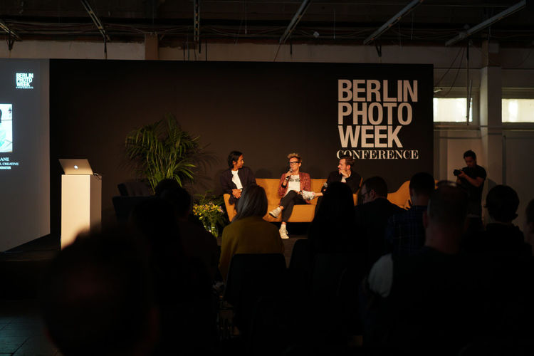 Listening for the photography trends 2019! BPW18 Round Table Adult Architecture Arts Culture And Entertainment Business Communication Conversation Group Of People Men People Performance Real People Sitting Togetherness