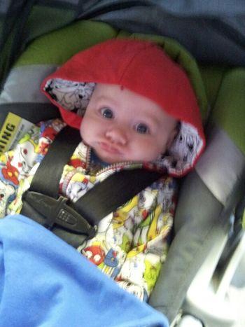 My Grandson Aiden Smurf Lol