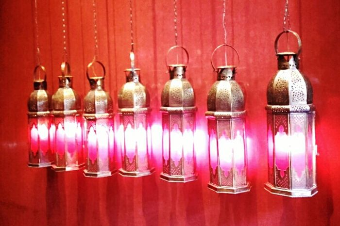 Pinklights Redwall Redwall Lanterns Oriental Style Tadelak Showcase March Colour Of Life