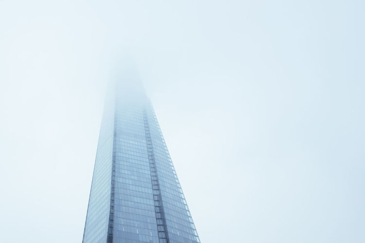 Architecture Architecture_collection Building City Fog Foggy London Mist Sky Southwark  The Sharf The Graphic City