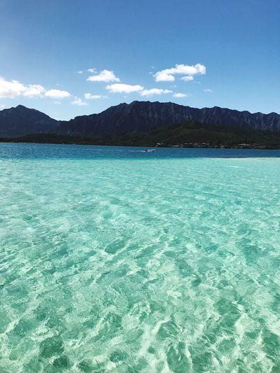 A beautiful sea