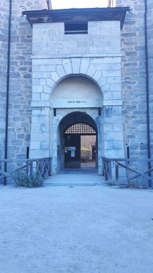 Architecture Architecture Photography Architecture_collection Front View No Edit No Filter Beautiful Summer Day Fortress Fort Marie -Christine Aussois - Savoie - France