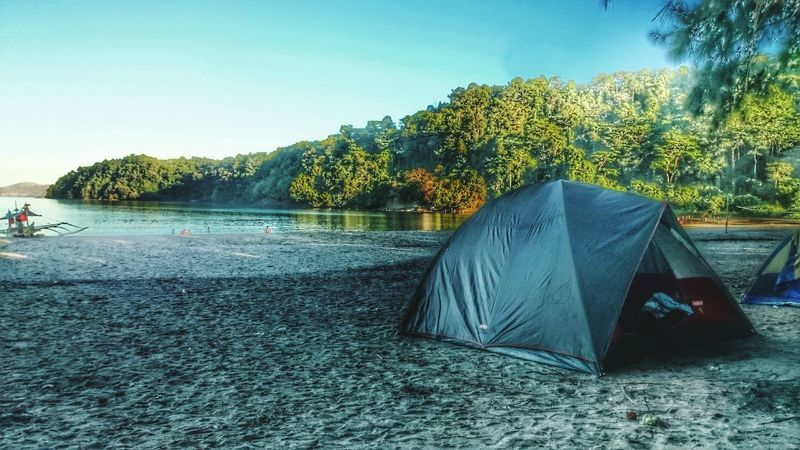 Tent Camping No People Outdoors Water Tree