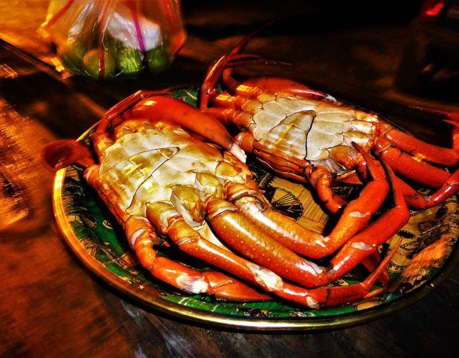 Crab Boiled