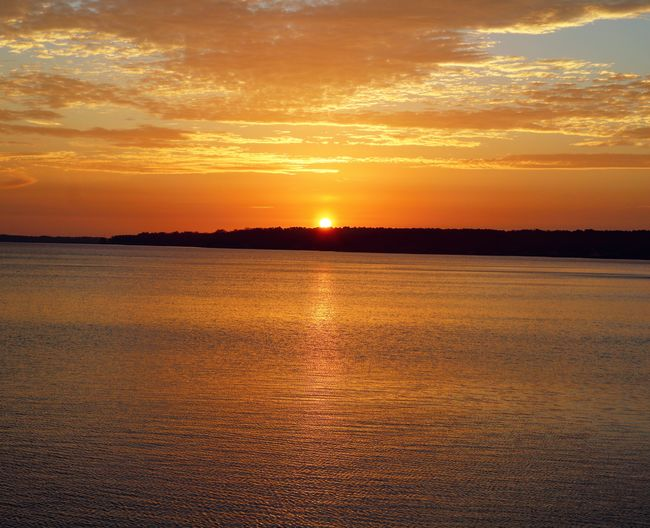 Onward, sailors! Views Sunrise Lakegaston Lake