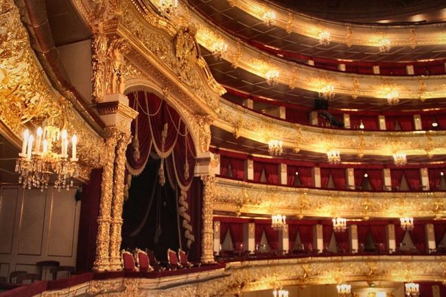 Balcony Theatrical Performance Stage Theater Arts Culture And Entertainment Cultures Elégance Architecture Luxury Indoors  Stage - Performance Space Chair Auditorium No People Baroque Style Illuminated Gold Gold Colored Theater Russia Golden Bolshoi Theatre Bolshoi Theater Moscow Royal Box Royal