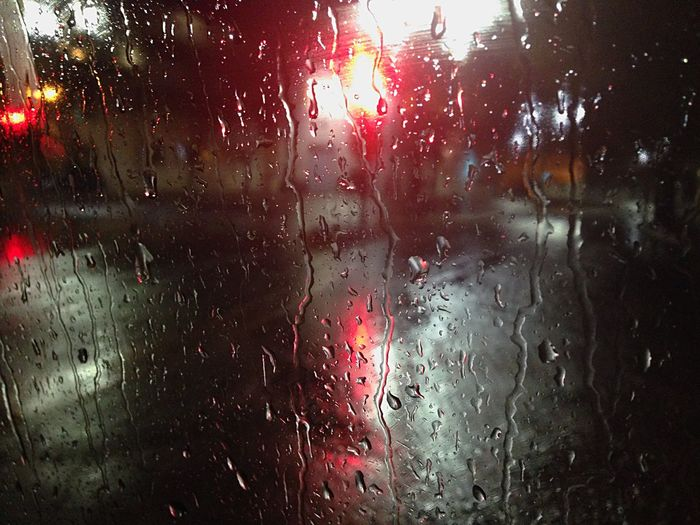 Rain Lights Streetphotography Raindrops Red Lights Singing In The Rain