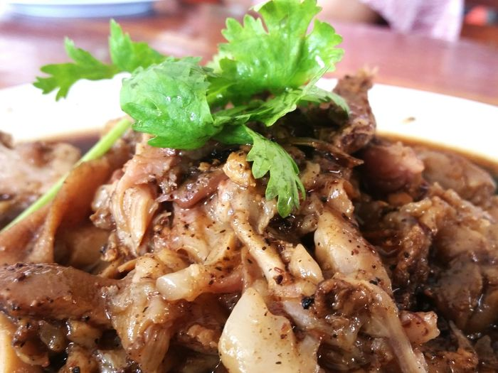 ขาหมูวววว 🐷 Stewed Pork Leg Thai Food Yummy Thailand