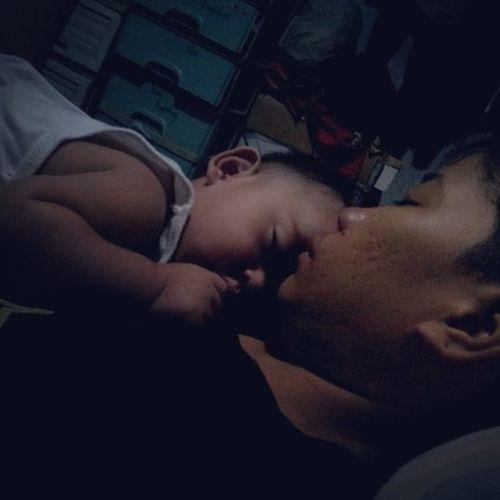 sarap ng sleep nila :) Goodmornight Gonnasleep Mylovesandbabylove Sleepingtight Blessed  Proud Thanksgod Happy