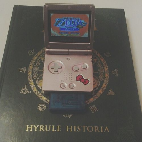 My 1 year #anniversary of owning #hyrulehistoria is coming up. To celebrate, I'm replaying ALL of my #Zelda #games in order according to the book. :-) My wedding anniversary is coming up too! Yay. Rcgameboyweek Zeldafan Link Ilovezelda Games Zeldajunkie Zelda Anniversary Gameboy Igersnintendo LegendOfZelda  Thelegendofzelda Wtfgamersonly Hyrulehistoria Nintendolife Oracleofages Ninstagram Notcibsunday