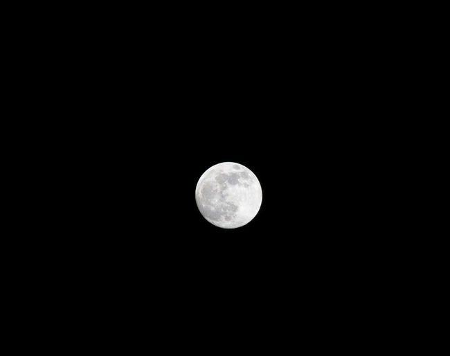 Moon Space Astronomy Sky Night Tranquility No People Moonlight