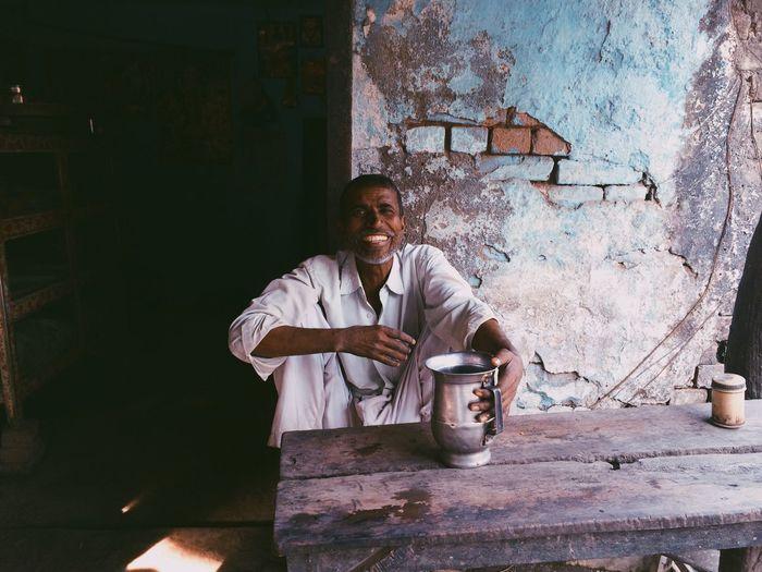 India Nepal Old Man