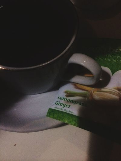 Cold Days Coldattack Lemongrass Tea Rain All Day