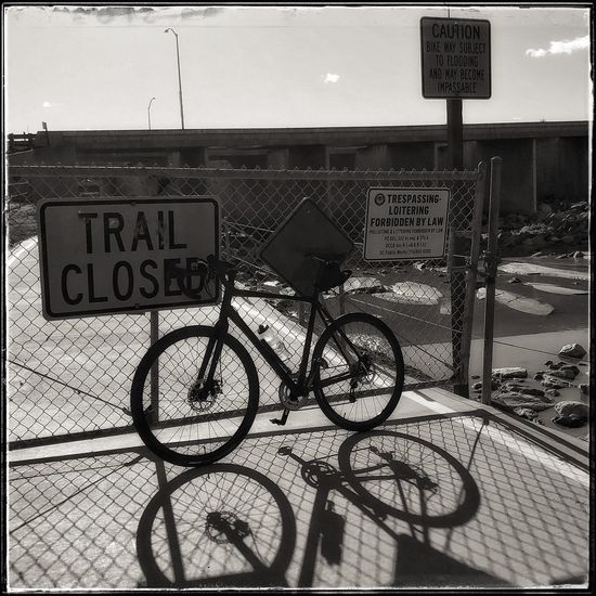 My ride was cut short today with the flooding. Snapseed 645pro IPhone IPhoneography Photo444 Streetphotography Bicycle