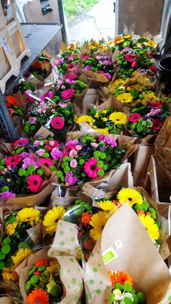 Boquet Of Flowers Flowers Florist Colourful