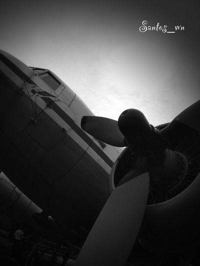 I wish that I could fly Into the sky So very high Just like a dragonfly -Lenny Kravitz- Lookin Up EyeEm Indonesia Eye4black&white  Old Plane