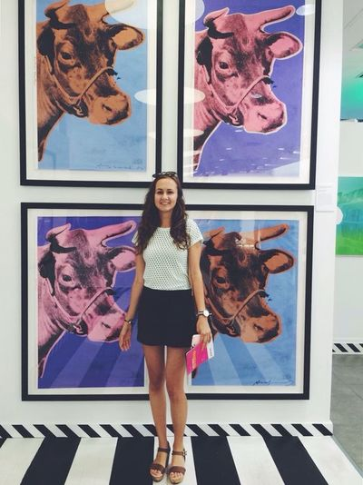 Cows2.0 Andy Warhol Cows Warholrevisited Art Gallery Colourful