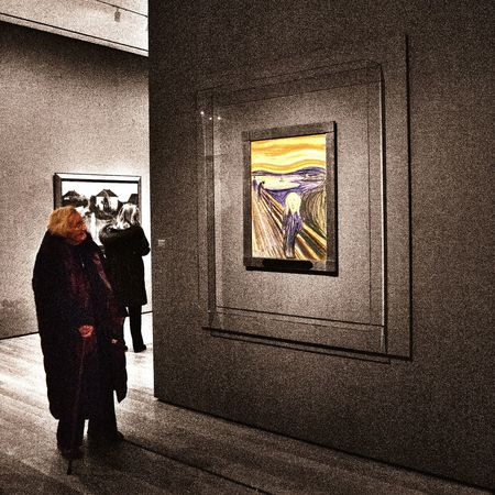 The Human Condition Moma New York Art NYC Colorsplash