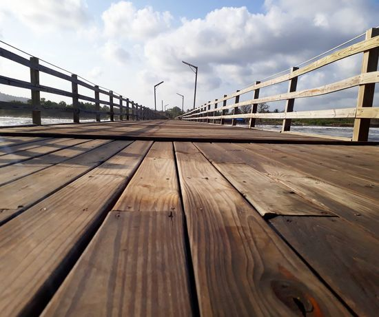 Muelle Cloud - Sky Sky Bridge - Man Made Structure Outdoors No People Day Travel Sea Water Nature Travel Destinations