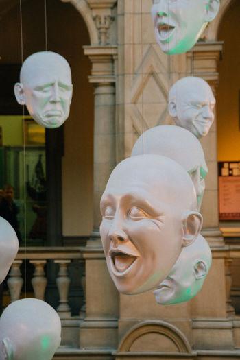 Expressions Facial Expressions Glasgow  Human Representation Indoors  Kelvingrove Scotland Suprise