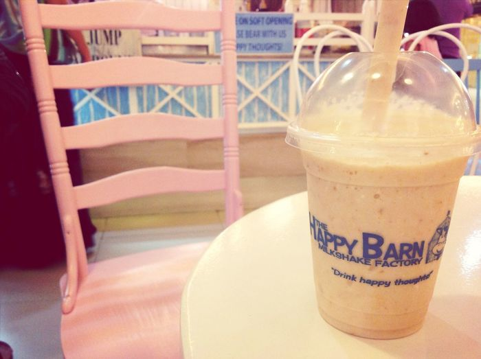Poppin caramel surprise! Happybarn Healthydrink