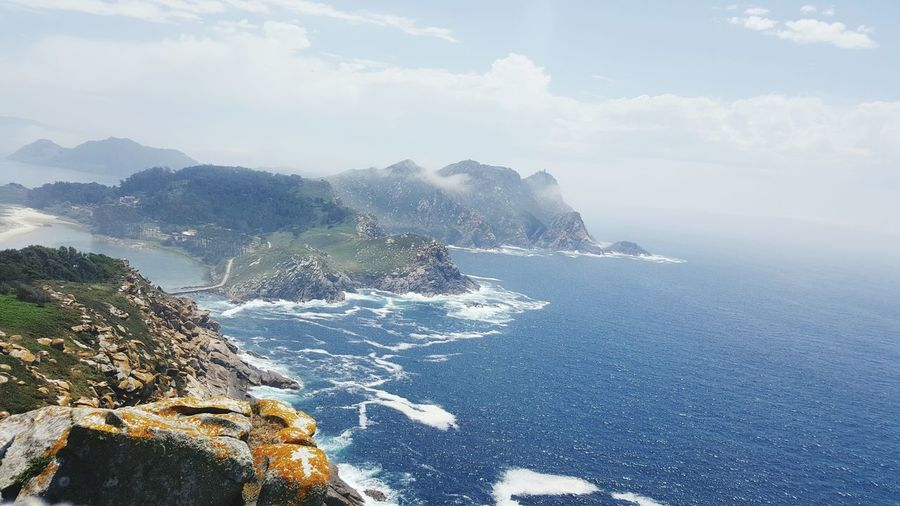 Sea Water Nature Outdoors Day No People Beauty In Nature Scenics Horizon Over Water Beach Mountain Sky Ciesislands Galicia SPAIN Island Nature Landscape Mount Beauty In Nature Travel Destinations