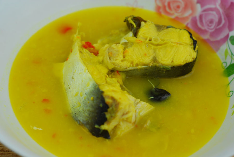 Ikan patin masak tempoyak Close-up Day Fish Food Food And Drink Freshness Freshwater Indoors  No People Patin Ready-to-eat Tempoyak