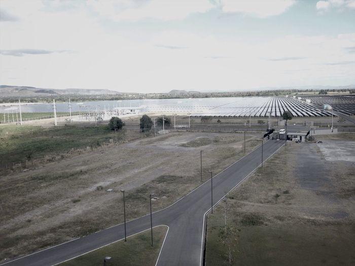 Blackandwhite Solarpower lopburi Thailand