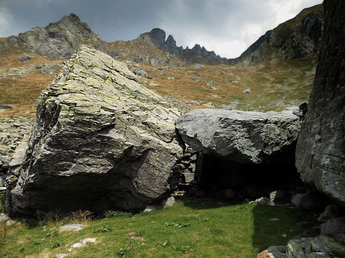 Beauty In Nature Changing Weather Landscape Photography Mountain Natural Shelters No People Orobie Outdoors Scenics Tumbled Stones