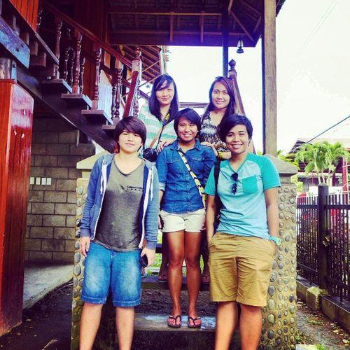 Dysfunctionalfamily at Doña Aurora's House in Baler @nirailu @icarys @jonemarie @tinisyay