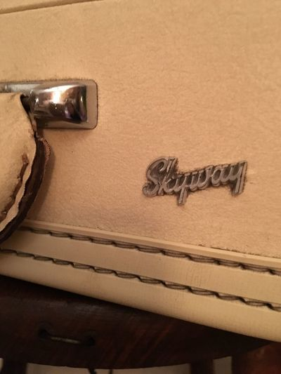 Let's pack! Skyway Travel Vintage Luggage Vintage Text Communication No People Indoors  Close-up Day
