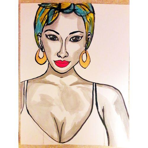 EyeEm Selects Young Women Beautiful Woman Portrait Women Females Beauty Human Lips Close-up