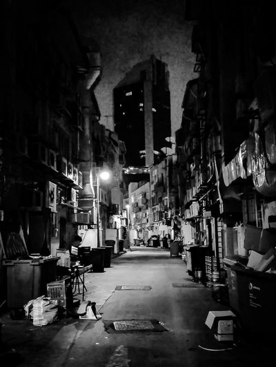 Behind the scenes Laneway Tourist Attraction  FoodJoint Nighttime Bw Monochrome Blackandwhitephotography Streetphotography