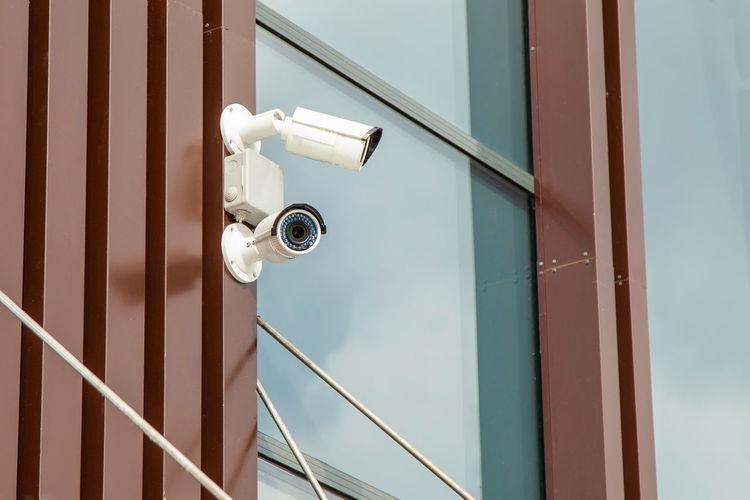 CCTV cameras on