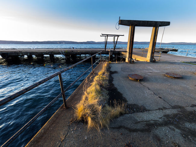 Industrial pier, abandoned at Nesoddtangen in Norway Day Decay Decaying Decaying Structure Industrial Architecture Industrial Area Industrial Decay Industrial Landscapes Industrial Photography Industrial Pier Industrial Quay No People Outdoors Sea Seascape Sky
