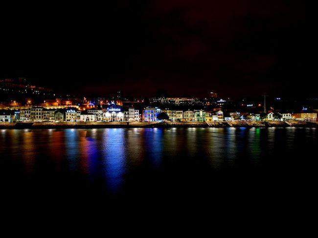 Night Porto Portugal 🇵🇹 Reflection River City Lights