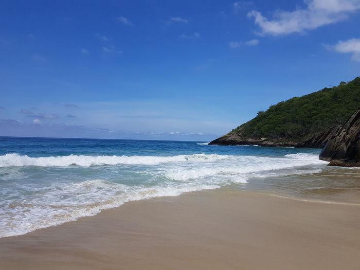 Beach Caribbean Venezuela Choroni Water Sea Beach Sand Wave Blue Summer Beauty Sky Horizon Over Water Bay Of Water Rocky Coastline Lagoon Seascape