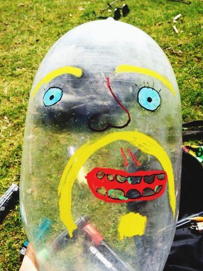 Condoms Portrait Funny At The Park