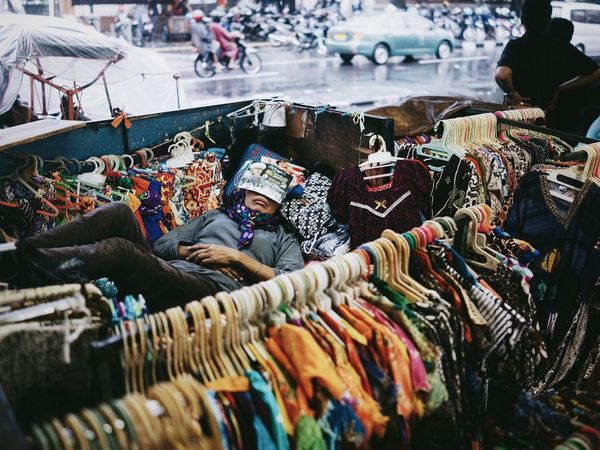 Woman Sleeping Shopkeeper Clothes Tired Streetphotography Street Photography Candid Nap Time Siesta INDONESIA Yogyakarta The Street Photographer - 2016 EyeEm Awards TakeoverContrast Beautifully Organized My Year My View The Street Photographer The Street Photographer - 2017 EyeEm Awards The Portraitist - 2017 EyeEm Awards Adventures In The City The Street Photographer - 2018 EyeEm Awards