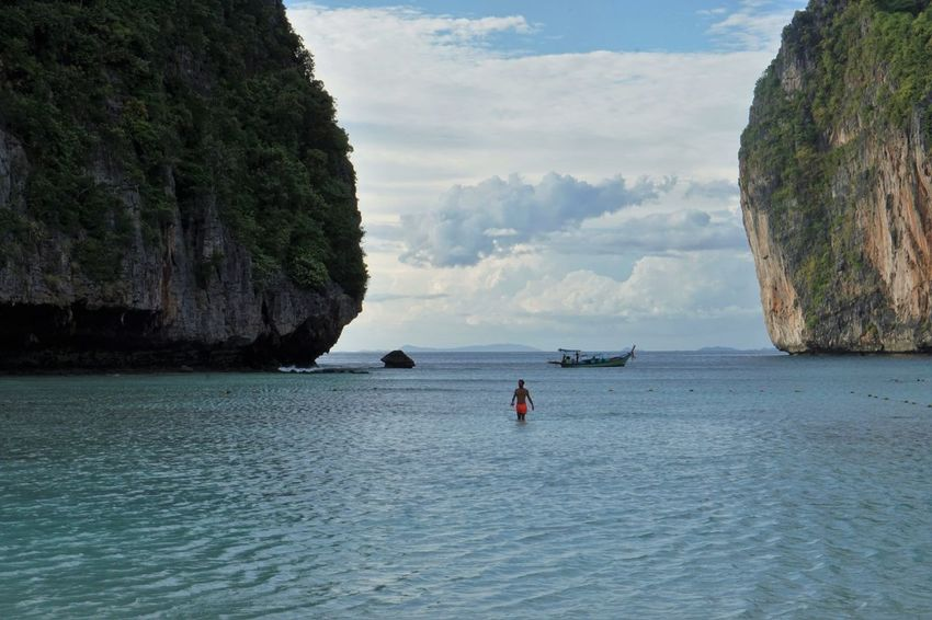 Beach Beach Life Beautiful Exotic Koh Phiphi Sea Thailand The Beach  Water