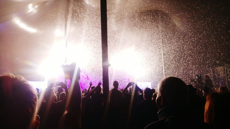 Arts Culture And Entertainment Large Group Of People Crowd Music Popular Music Concert Night Event Enjoyment Nightlife Music Festival Celebration Fun Stage Light Performance Audience Silhouette Excitement Stage - Performance Space Youth Culture Illuminated