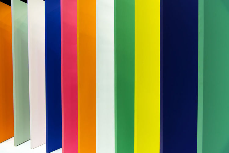 Full frame shot of color swatch