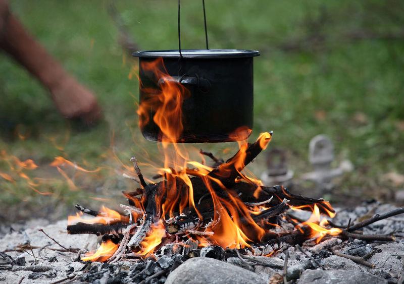 Adventure Bivouac Bonfire Burning Camp Campfire Camping Campinglife Cooking Cooking A Meal Cooking Life Cooking Time Fire Flame Food Heat - Temperature Meal Outdoors Pot Soup Survival Survive Water Camp