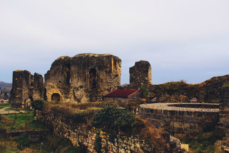 Valkenburg Castle Ruins series (My travel photo series last December to the Netherlands). Stones Historical History Castle Ruins EyeEm Selects Architecture Old Ruin Ancient Civilization Ancient The Architect - 2018 EyeEm Awards