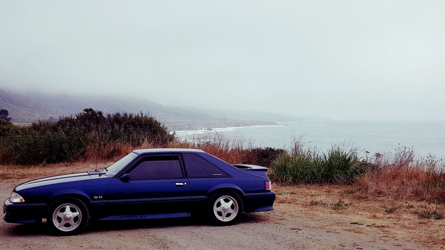 My last ride in the 1993 Mustang 5.0 GT that I built form the ground up. This was a week long road trip to San Francisco from Washington State on HWY 101 to HWY 1. Muscle Cars Mustang Foxbody Car Collector's Car Coast Coastline Coastline Landscape Cloudy Sky Memories Lovemycar 1993 Mustang 5.0 California Hwy1 Highway 1 Sea Cloud - Sky Ominous Sky Ominous Ryan Chamberlain EyeEmNewHere